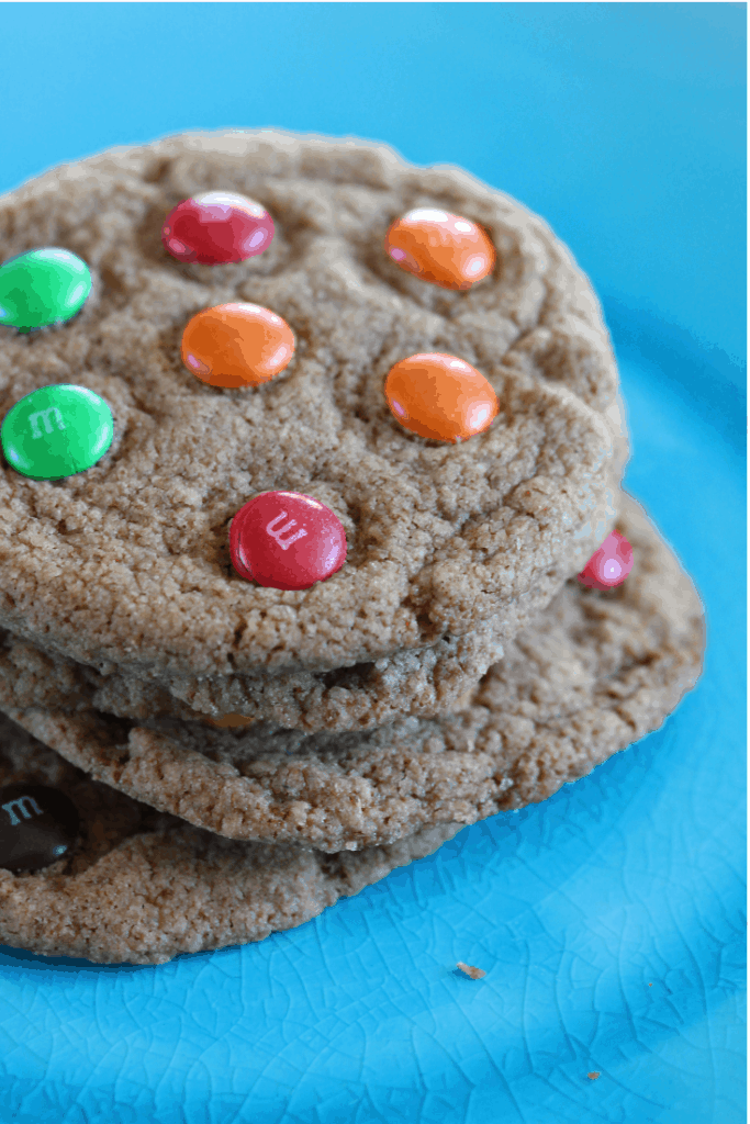 The best gluten free cookie recipe you'll find. These soft, chewy cookies are just like the 'normal' cookies you buy in shops. #freefromfairy #fairyflour #wholegrain #glutenfreeflour #glutenfreerecipe #glutenfreecookie #vegancookie