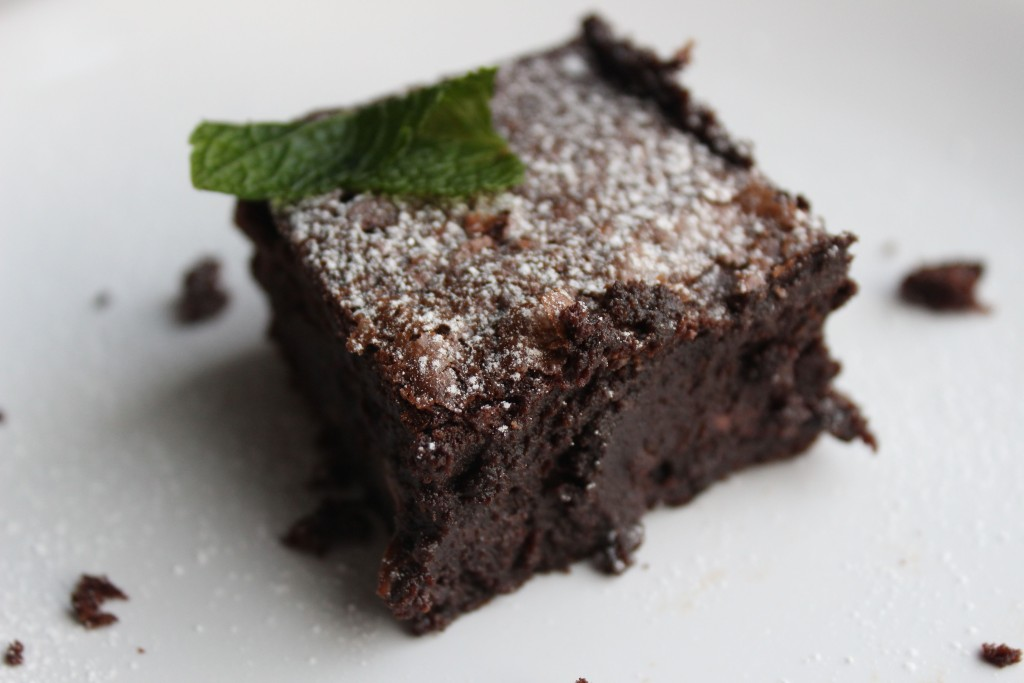 Incredible gluten free brownies