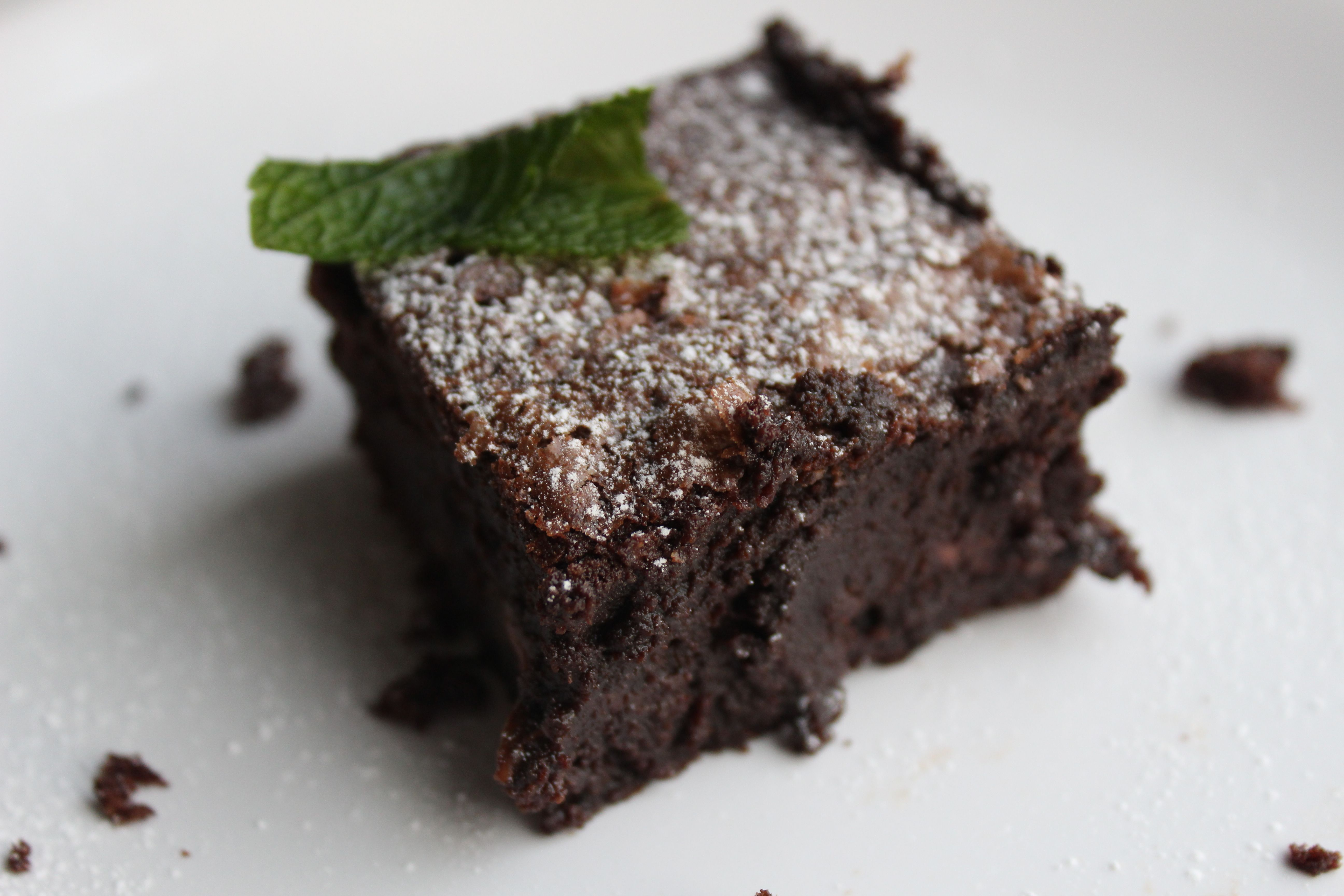 Gluten free brownies oh my goodness i came across the best recipe for brownies a few days ago that i adapted to be gluten free and dairy free it is a bbc good food recipe forumfinder Choice Image