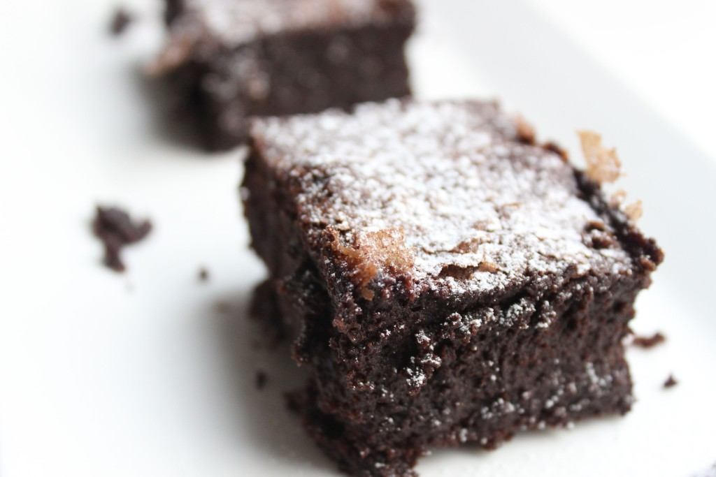 Gluten free brownies from the Free From Fairy. #freefromfairy #glutenfreebrownies