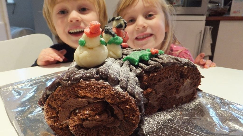 Best Gluten Free Yule Log With Ganache Filling The Free