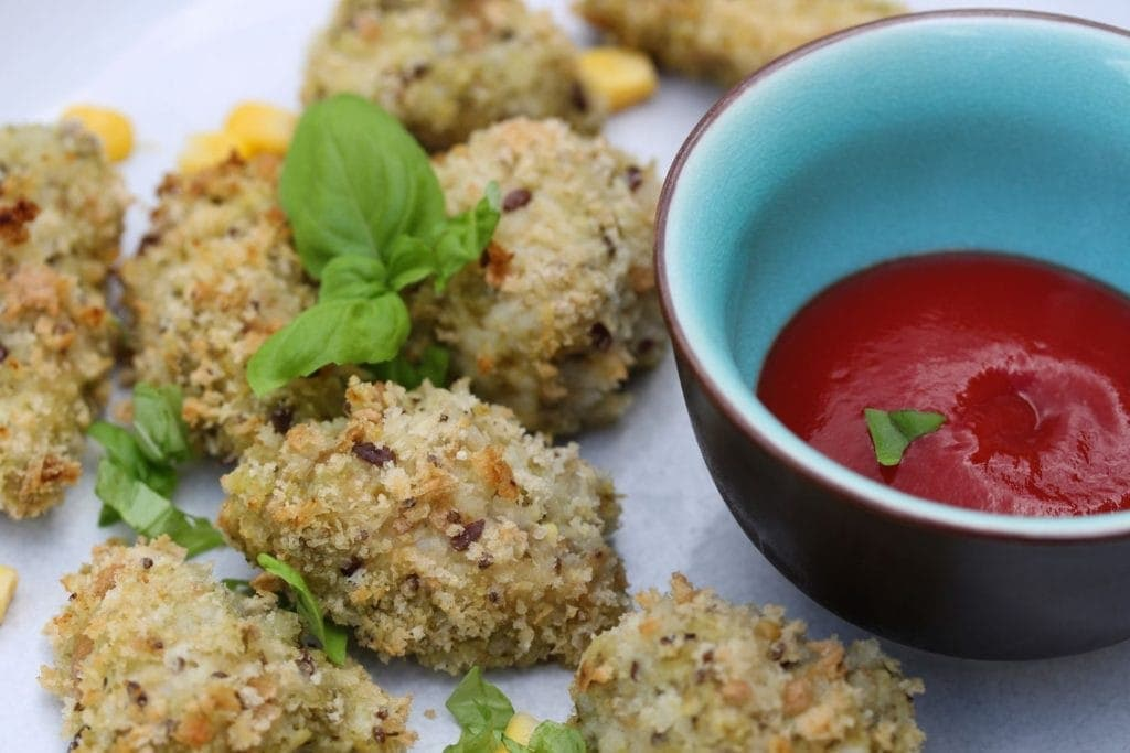 gluten free chicken nuggets. Perfect gluten free party food