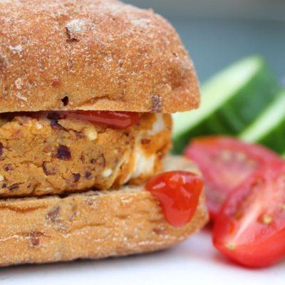 Spicy Bean Burger Recipe (Gluten Free)