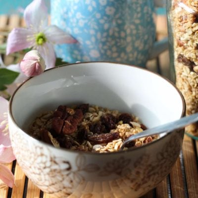 Super easy, healthy muesli