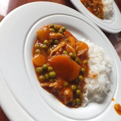 Mulligatawny chicken
