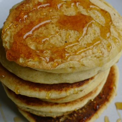 Gluten-free and Dairy-free breakfast pancakes