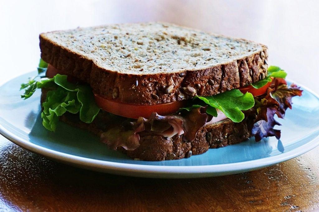 Sandwich for lunch