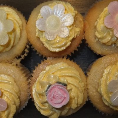 The tooth fairy and luscious lemon and elderflower cupcakes