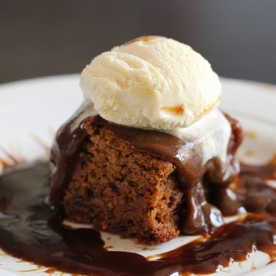 Gluten Free Sticky Toffee Pudding (Dairy Free)