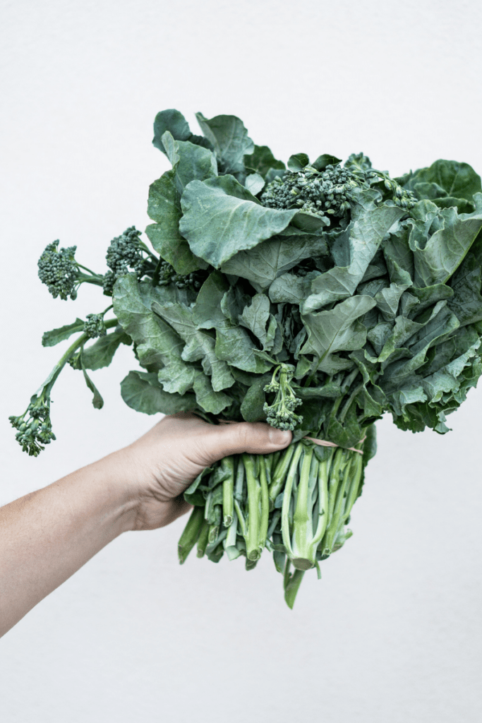 Kale; a good source of calcium without dairy