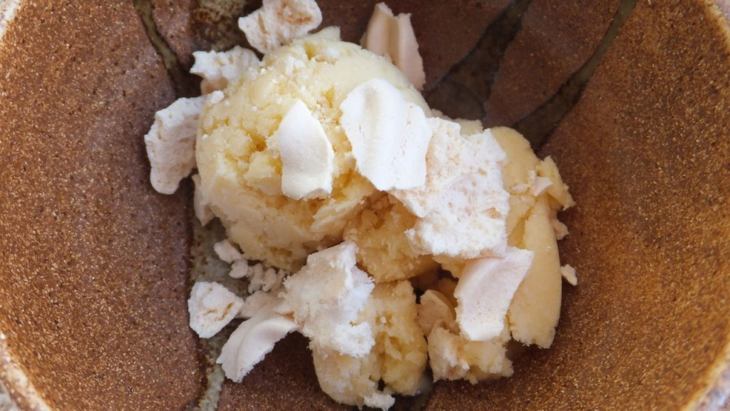 Gluten-free, Dairy-free Lemon Meringue Icecream
