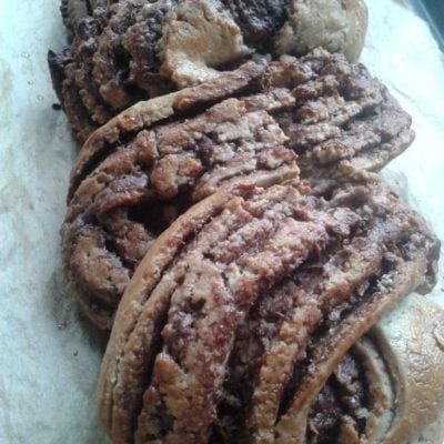 Twisted Gluten & Dairy-free Chocolate Bread