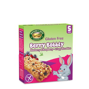 Berry Bobbly Rice Bites