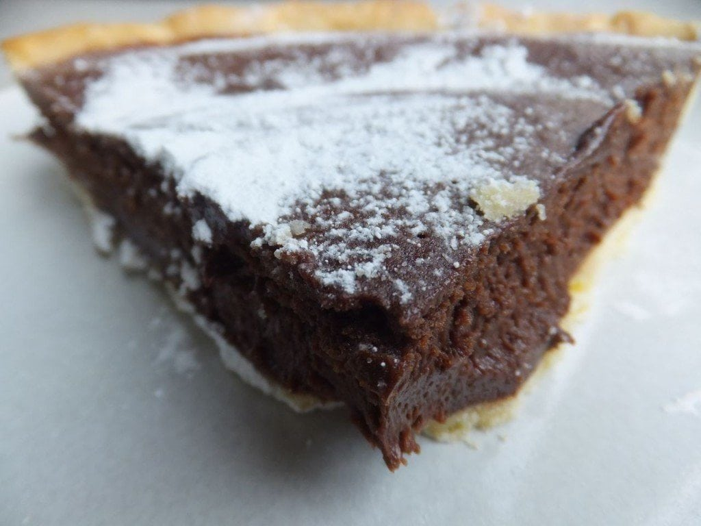 Gluten free chocolate tart; a special Easter treat