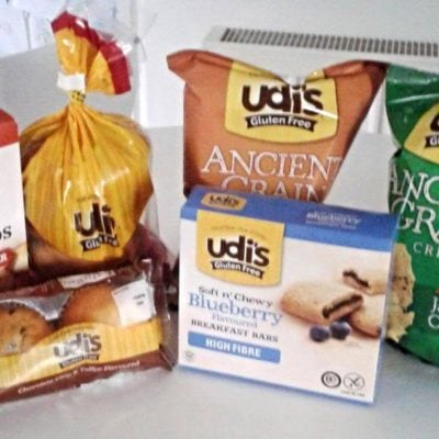 Is it gluten-free? Yes, it's Udi's!