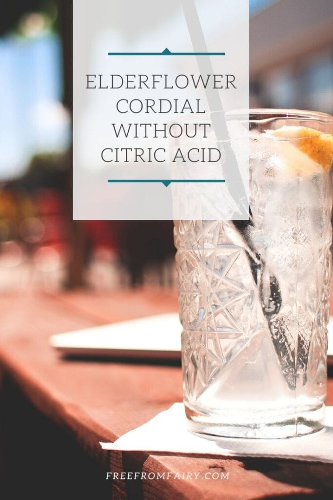 elderflower cordial without citric acid. #elderflowercordialrecipe #elderflowercordial #elderflowerrecipe #freefromfairy