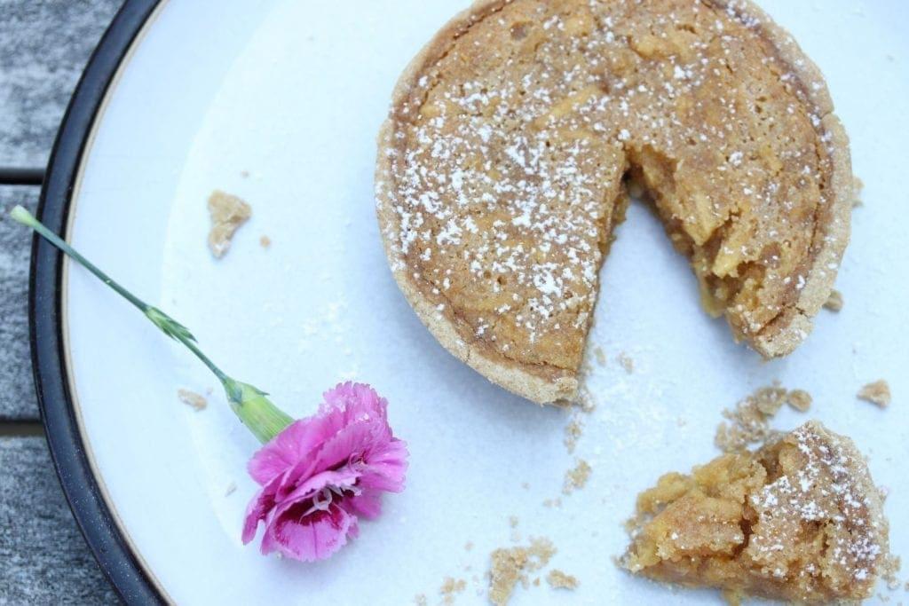 gluten free vegan treacle tart