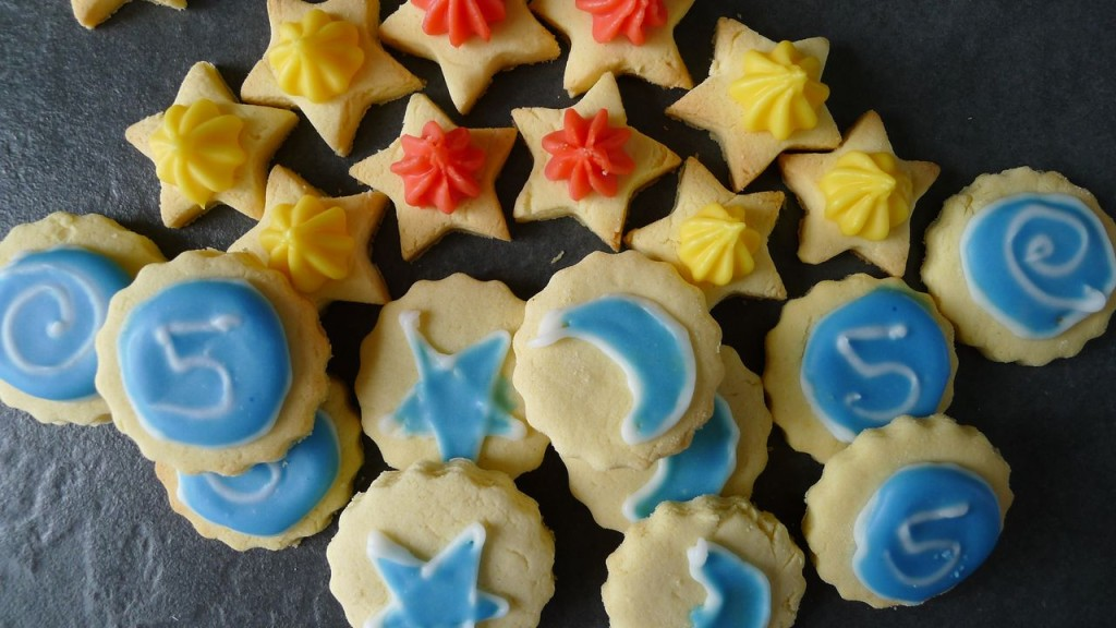 gluten free iced gems and cookies