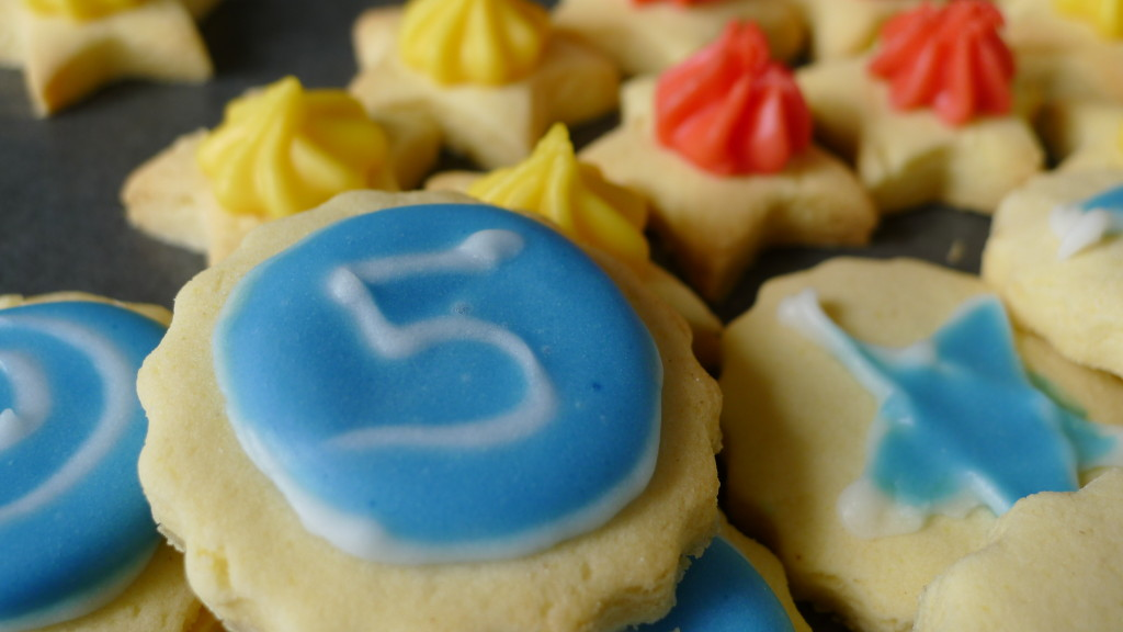 gluten free iced gem biscuits. Always a biscuit that appears at gluten free birthday parties