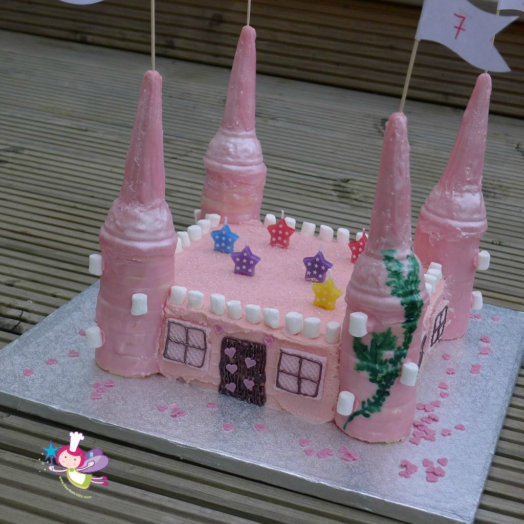 fairy castle on deck