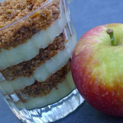 Gluten-free Danish Apple Cake