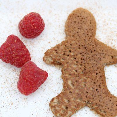 Gluten-free & Dairy-free Gingerbread Pancakes