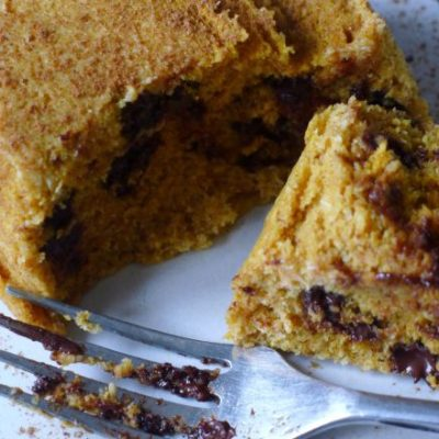 Five Minute Chocolate Chip Cake Recipe