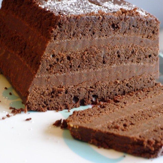 chocolate chestnut pud