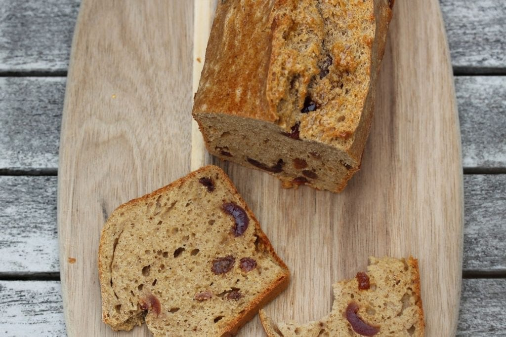 Free From Fairy gluten free fruit bread
