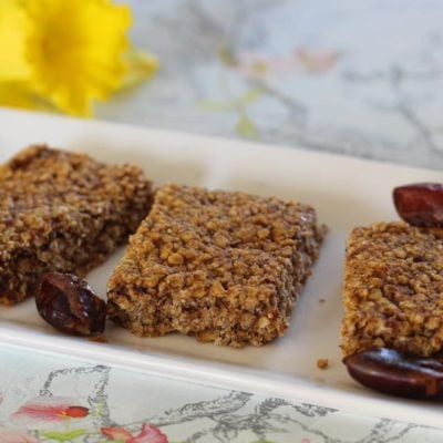 Healthy Flapjack Recipe (Gluten Free, Sugar Free)