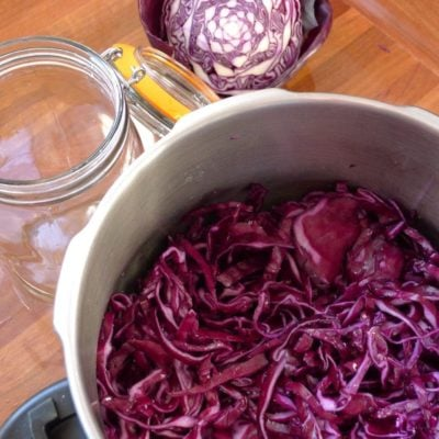 The First of Many 'Jar' Recipes…Sauerkraut