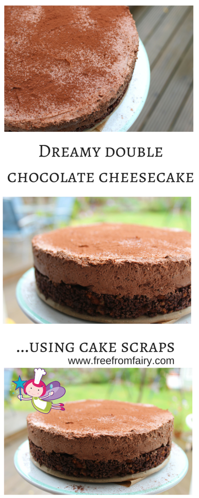 Dreamy double chocolate cheesecake