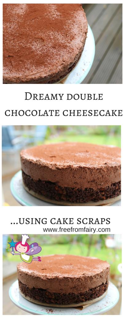 Dreamy double chocolate cheesecake