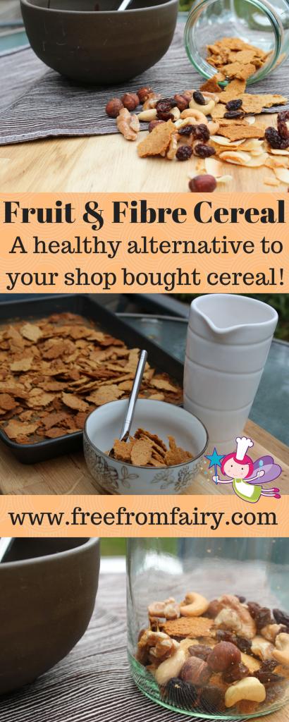 Homemade Fruit & Fibre Cereal