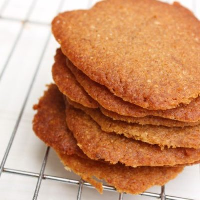 Paleo Ginger Cookies (Gluten Free, Refined Sugar Free)