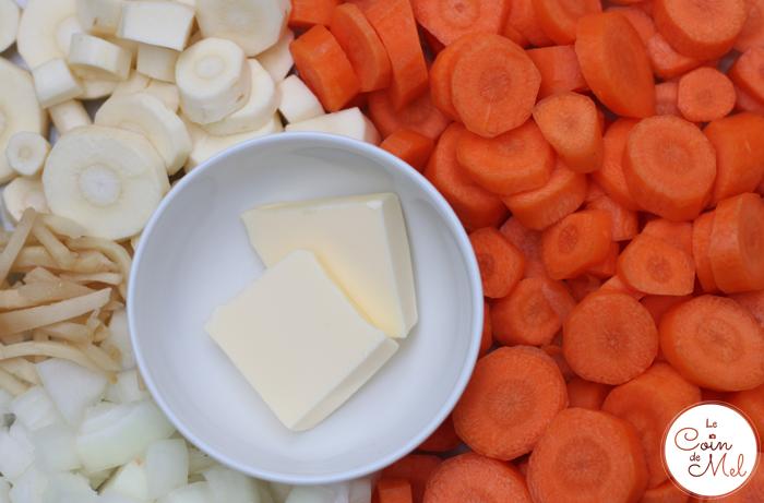 Autumn Vegetable Soup - Ingredients