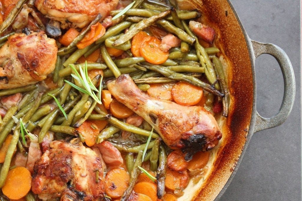 A fabulous chicken stew