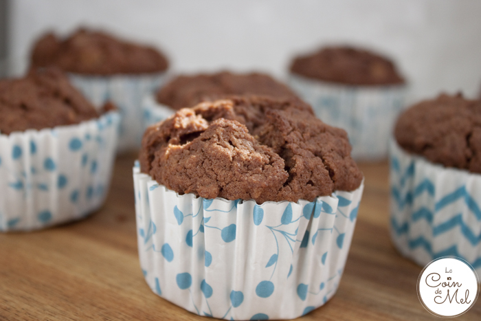 Triple Chocolate Muffins (Free From Wheat, Eggs & Nuts)