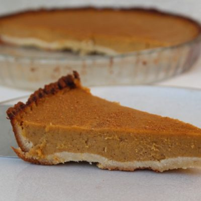 A Very Freefrom Pumpkin Pie
