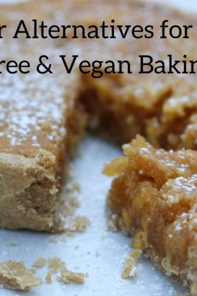 Butter alternatives for dairy free and vegan baking