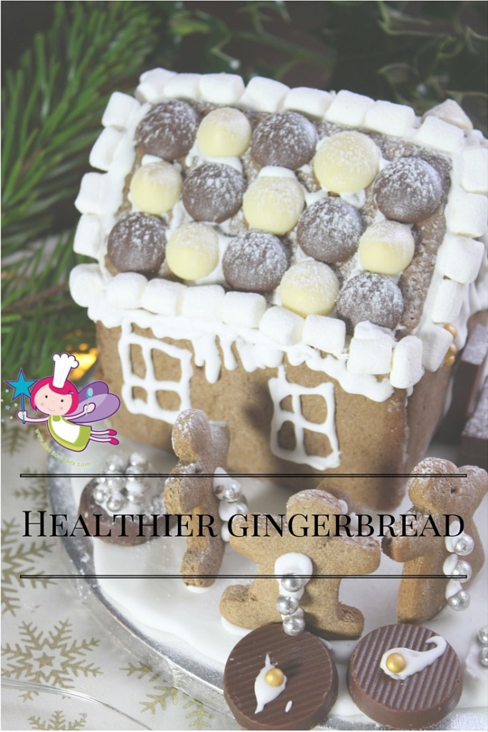 Healthier gingerbread