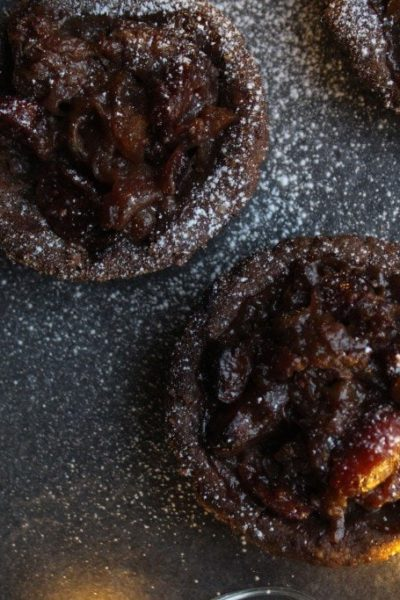 mince pies made with low carb keto pie crust
