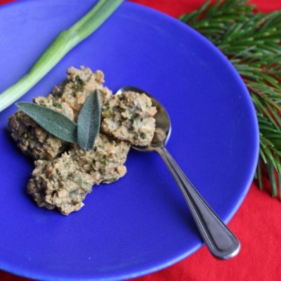 A Low FODMAP Christmas Dinner & A Recipe For Sage & Spring Onion Stuffing