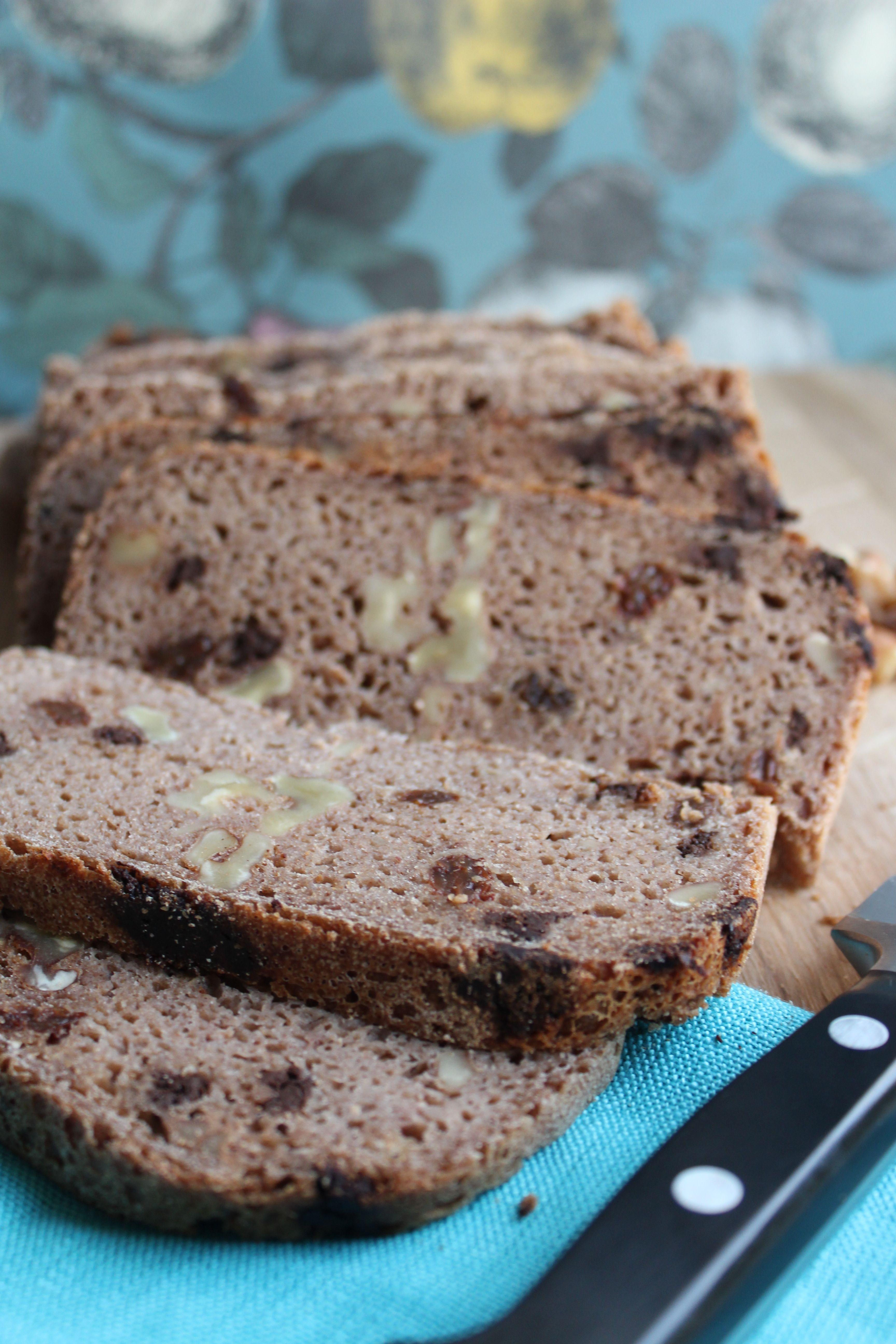 Breadmaker Gluten-free & Dairy-free Fruit, Nut & Chocolate Loaf