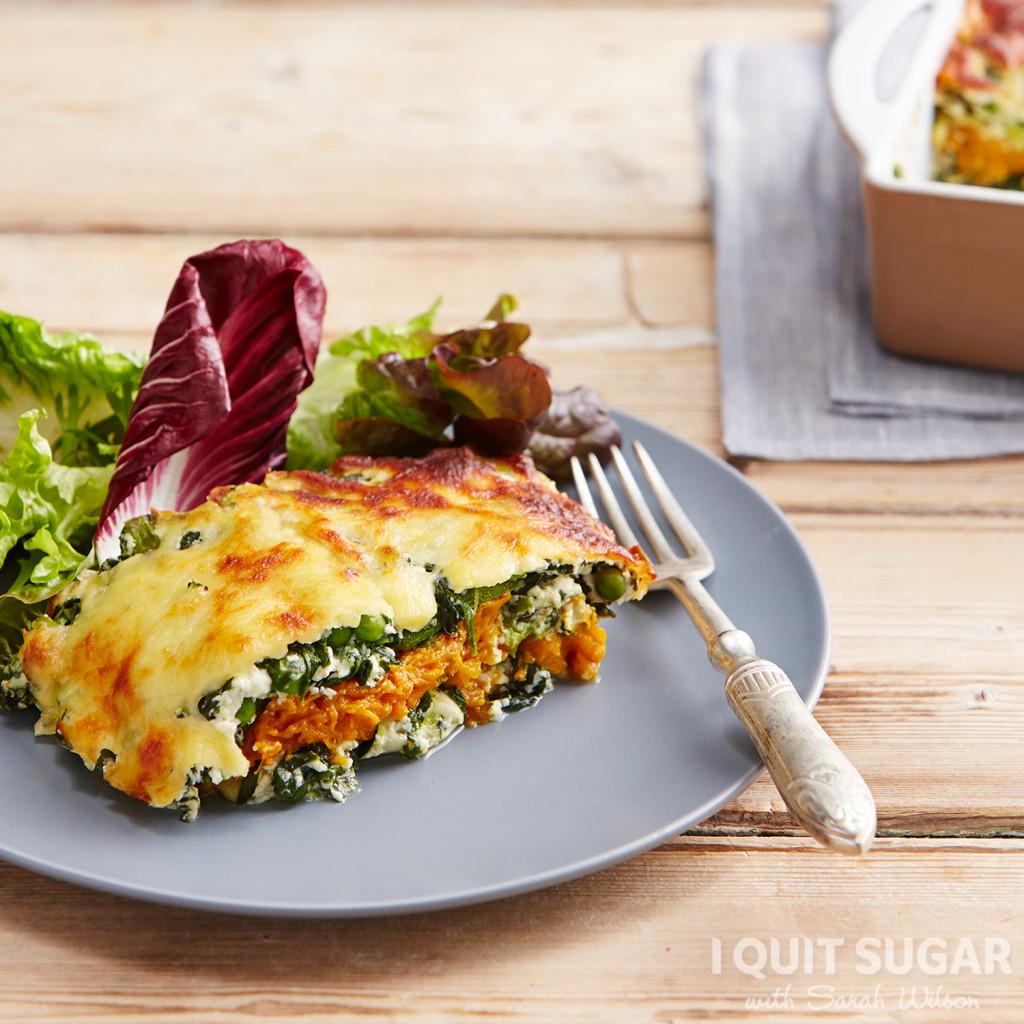 Layered Vegetable -Lasagne- (Square)