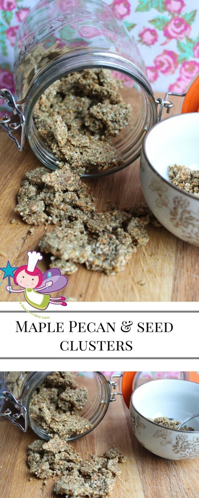 Maple Pecan & seed clusters