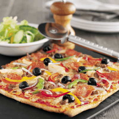 UK Pizza Hut Restaurant Gluten-free Pizza Review
