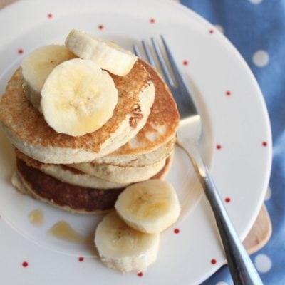 'Marzipan' Pancakes – Grain-free, Dairy-free, Refined Sugar-free