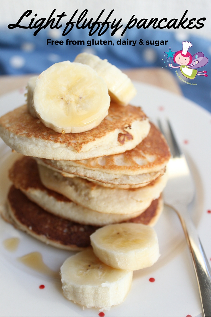 'Marzipan' Pancakes - Grain-free, Dairy-free, Refined ...
