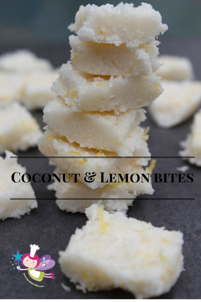 Coconut & Lemon bites